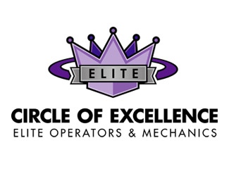 Circle of Excellence Logo Elite Operators and Mechanics