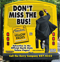 Full back wrap advertising for GRTC bus